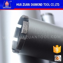 Roof top china diamond hollow core bits with v type segments