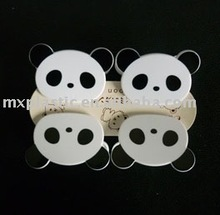 mini plastic Cartoon colorful animal panda Plastic 4 Clip/hangers