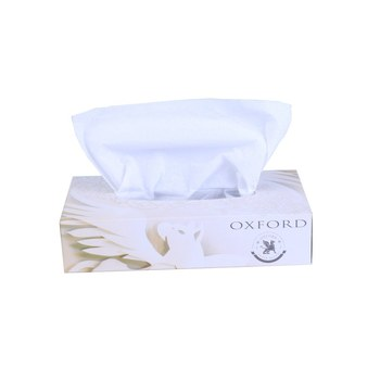 High Absorbent Ultra Soft 2Ply Flat Box Hotel Facial Tissues