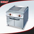 Commercial Electric Griddle Used In Restaurant(INEO is professional on commercial kitchen project)