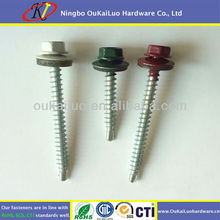 9 x 2-1/2 Colourful Painted Roofing Screws