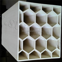 STA 2015 hot sell competitive price honeycomb ceramic cordierite honeycomb ceramic for catalyst