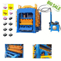 QT4-15 gypsum ceiling board making machine price in india brick block machine
