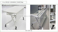 folding table steel frame folding table legs. Portable Folding Table, Save Space