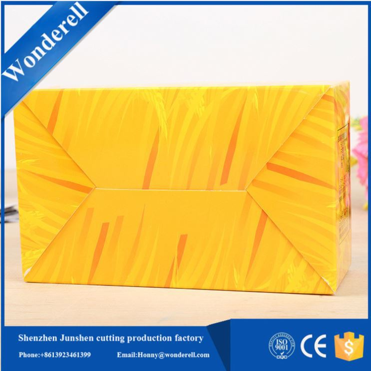 oem Recyclable card table lamp packaging box