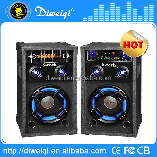 New professional 2.0 60w dj equipment with usb and sd card reader bluetooth speaker