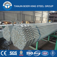 Hot rolled galvanized steel pipe for building green house