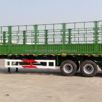 Side Wall Semi Trailer For Transporting