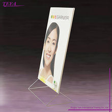 Acrylic Display Menu Sign Holder For Hotel