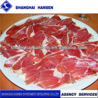 Serrano Ham import and export agency services for international cargo transport