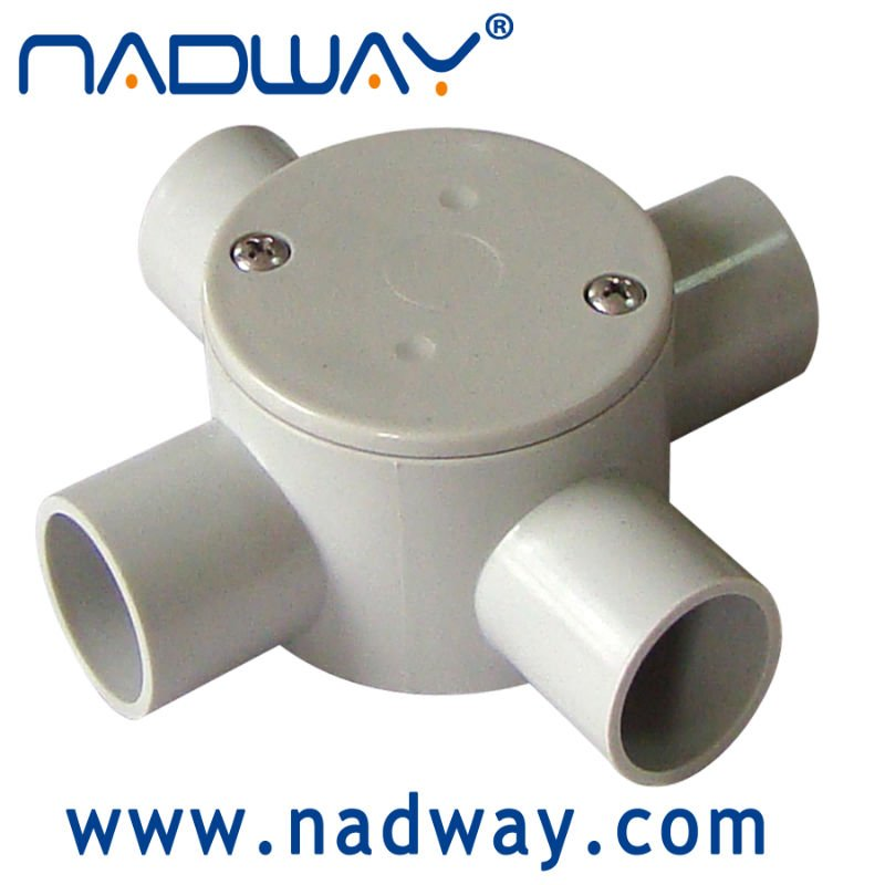 on top sale types of electrical pvc conduit and fittings