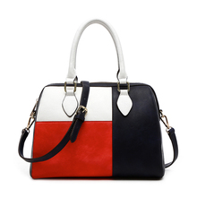 China Bulk Buy Oem Design Faux Leather Fashion Elegance Handbags,Wholesale Tote Shoulder Bags With Custom Printed Logo