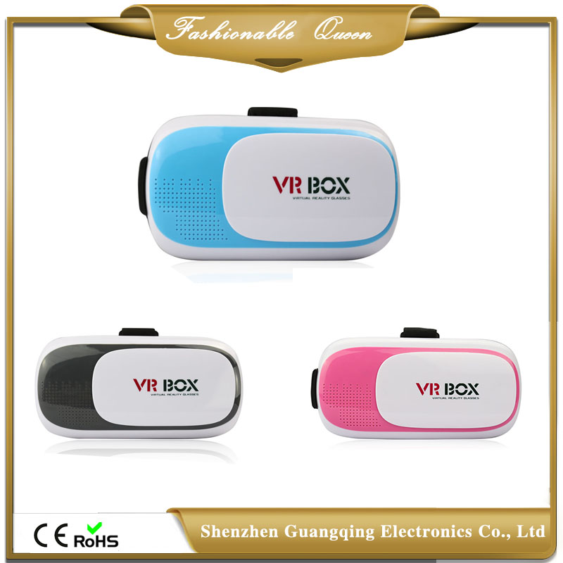 China Wholesale VR BOX 2.0 3D Headset Glasses 3D VR Glasses