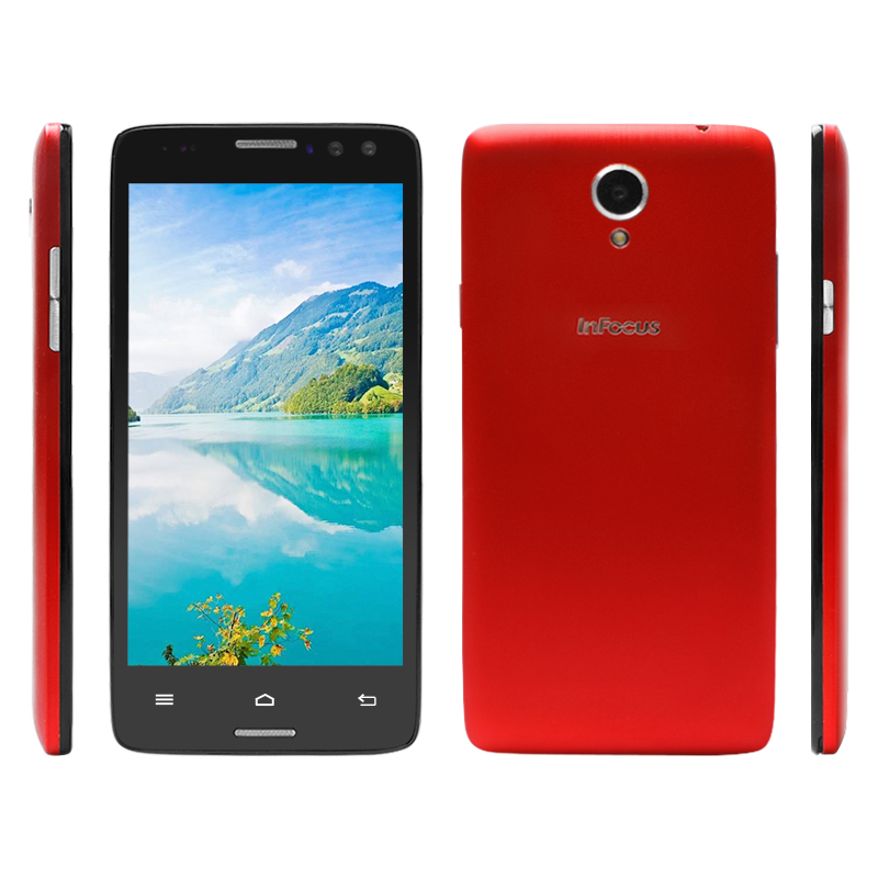 "Cheap Infocus MD550 MTK6752 Octa Core 5.5"" 1920*1080 FHD 4G LTE 13.0MP Camera 3D Video Display Smart Phone"