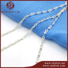 Best sale product 925 sterling silver chain jewellery meter infinity shape chain