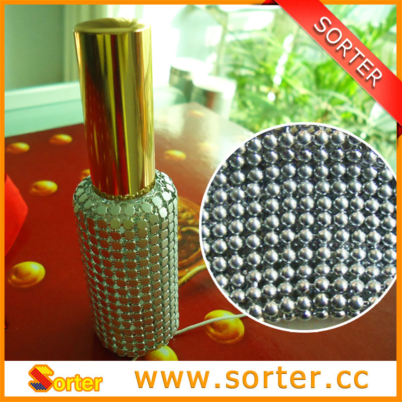 Fashionable Metallic Sequin Cloth For Bottle Covers