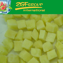 IQF Frozen Fresh canned pineapple in malaysia in good quality in bulk