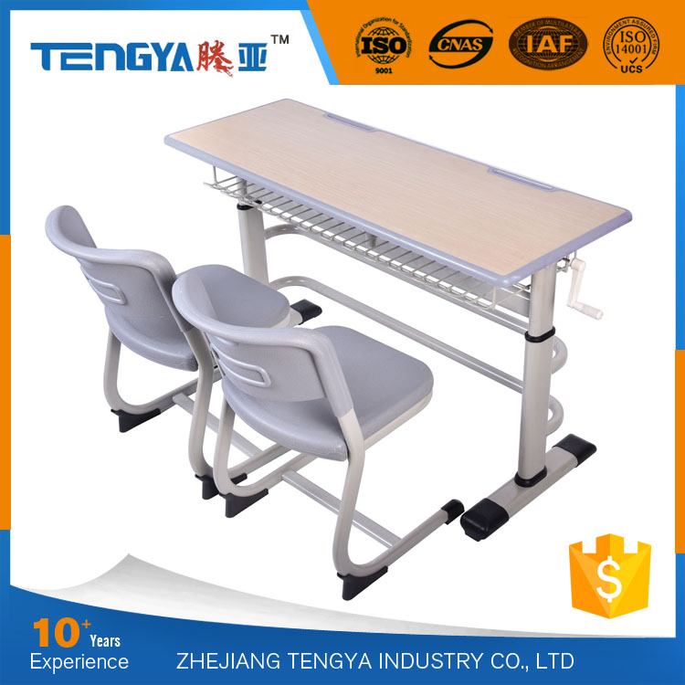 Tengya New Design School Furniture Combo School Desk and Chair