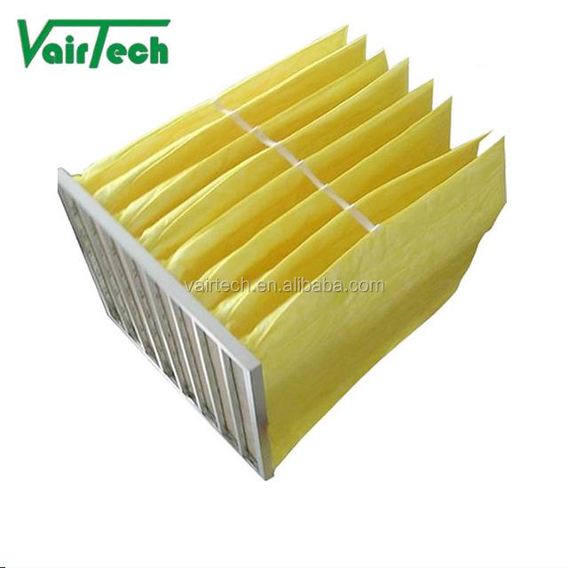 fresh air paper bag filter aluminum frame air filter professional China Manufacturer