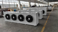 Water defrost evaporative air cooler,air cooled evaporator, Air Cooler with air tunnel for Cold Room use