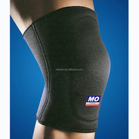 Gym SHIWEI-707# neoprene powerlifting knee sleeves sport strap crossfit knee pads wholesale supplier