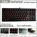 Cherry MX mechanical backlight keyboard