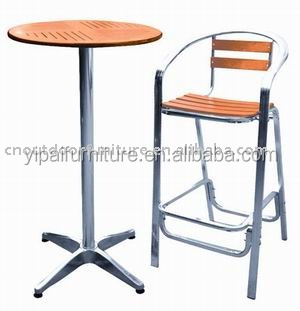 New design bar table and chairs wooden bar table pub table for Bar table and chairs design