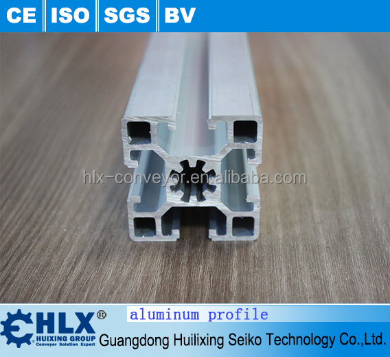 Hot sell 30X30 t slot aluminum profile with certificate