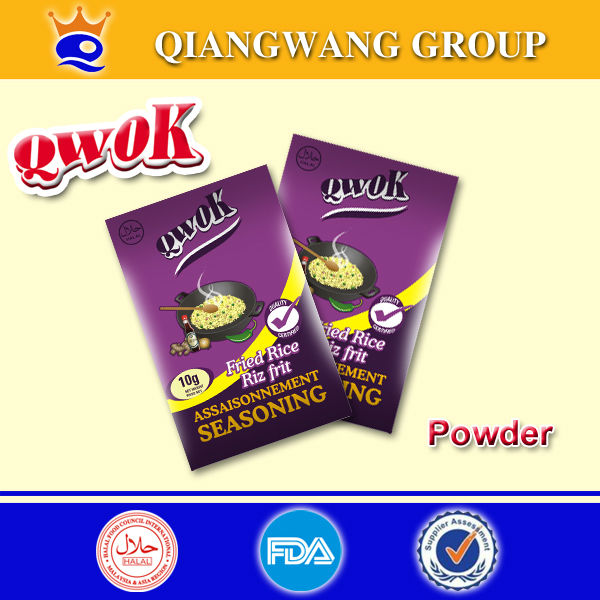 Exported sachet fried rice powder , seasoning powder for fried rice