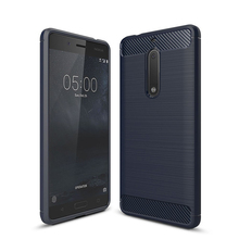 Super-Slim TPU Shockproof Case Cover for Nokia 5 Soft Flexible Protective Shell