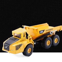 Customized 1 18 articulated dump truck toys model made in China car factory With Good After-sale Service