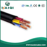 Aluminum or Copper Conductor XLPE Insulated Steel Wire Armor PVC Sheath 4 Core 120mm Power Cable