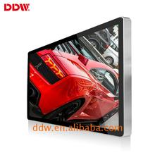 High Brightness wall mount lcd media player indoor advertising digital signage equipment rent