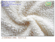 Jishengxiang textile Super soft Faux sherpa sheepskin fabric wholesale