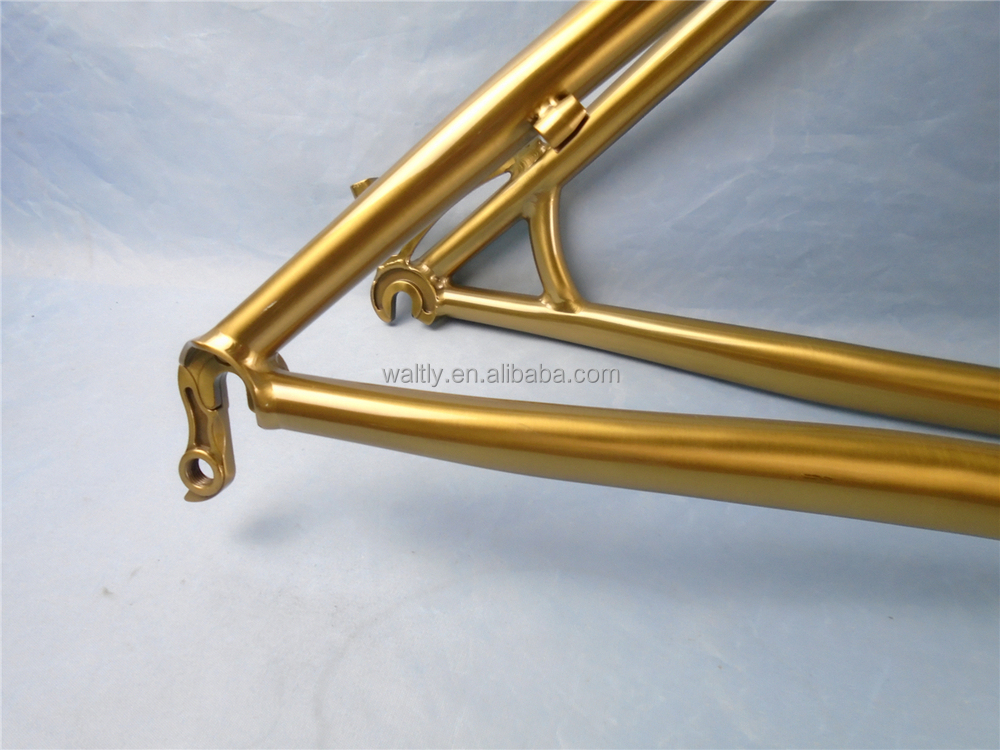 "Newest painting 26"" Titanium double butted mountain bicycle frame WT-M48M"