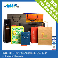 Luxury Printing On Paper Bag Packaging For Weeding Gift Packing