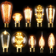 Vintage lamp D64 E27 40W 240V edison bulb luxury quality cheap price clear e27 40w edison bulb