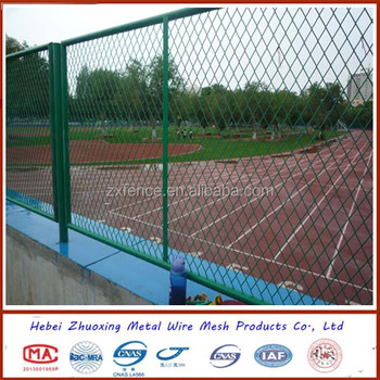 Powder coated/galvanized metal wire fence plate