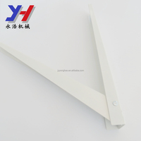 alloy steel white painting folding bracket for kitchen laundry room garage boat RV SGS ISO ROHS OEM ODM factory manufacture