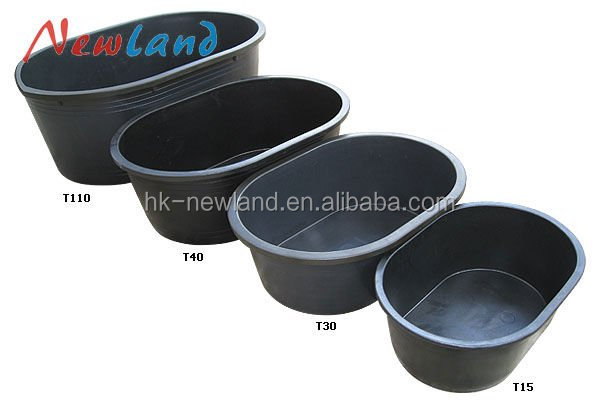 NL809 plastic horse water trough