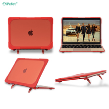 Ultra Thin TPU PC Shockproof Protective Laptop Cover Case For Macbook Air 11 12 13 Inch