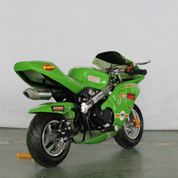 X18 gas powered super 49cc engine pocket bike for sale cheap