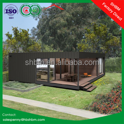 40ft 20ft sandwich panel light steel prefab portable container house luxury
