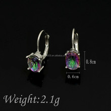 2016 light Oval Fashion&Colorful Earring Jewelry