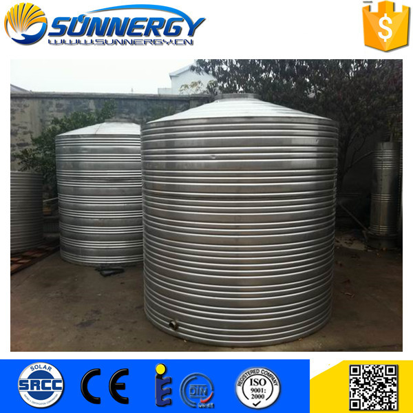 Promotional solar water tank with heat exchanger