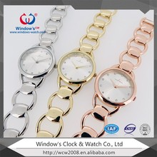 2016 new design fashion girls quartz hand watch with japan movement