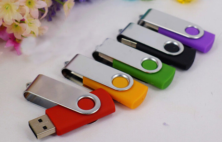 wholesale colorful swivel usb stick promotion gift bulk 1gb usb flash drives print logo cheap mini usb flash drive