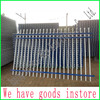 hot-dip galvanized and powder coated metal wrought iron fence designs for sale instore
