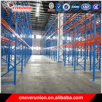 Box beam heavy load capacity warehouse pallet storage racking
