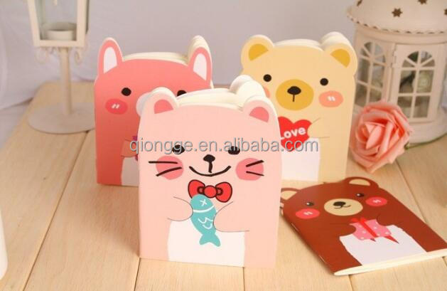 12pcs/lot Free Shipping Newest Mini Cartoon Little Bear Paper Notebook/Journal Diary <strong>Book</strong>/Notepad/Memo Pads